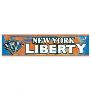 New-York-Liberty-Official-WNBA-12x3-Bumper-Sticker-by-Wincraft-0
