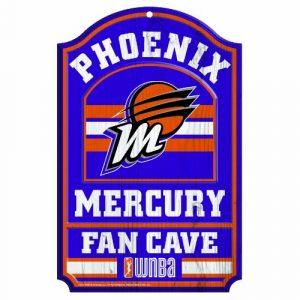 WNBA-Phoenix-Mercury-Fan-Cave-Wood-Sign-11-x-17-Inch-0