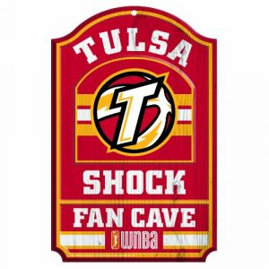 WNBA-Tulsa-Shock-Fan-Cave-Wood-Sign-11-x-17-Inch-0