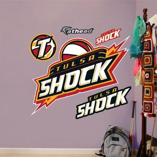 tulsa shock logo fathead wnba draft wnba draft